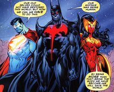 God-like Batman, Superman and Wonderwoman