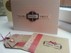 ♥ Thank you cards ♥ #giftsfromtheheart #workshops