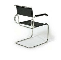 The Bauhaus Cantilever Chair (D was designed by Marcel Breuer at the Bauhaus Dessau in Made for us in Germany by Tecta.