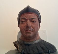 "Giovanni de Medici.. Later Pope Leo X....  Depicted as hard faced ""operator""?"