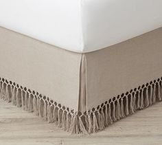 Ticking Stripe Bed Skirt Exotic Pottery Barn Clic Dust Ruffle Calking