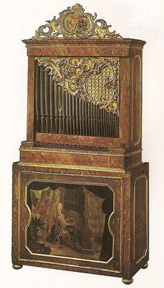 18th-century German Chamber organ.