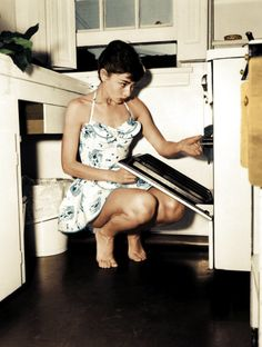 Glamour in the kitchen