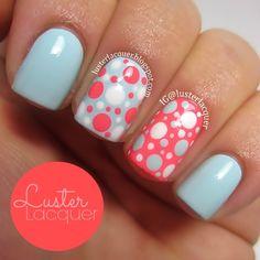Luster Lacquer: #nail #nails #nailart