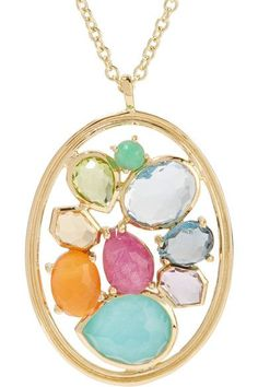 Ippolita - Rock Candy 18-karat Gold Multi-stone Necklace - one size