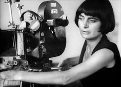 Belgian-French filmmaker Agnès Varda ( the 'First Lady' of the 'Nouvelle Vague')