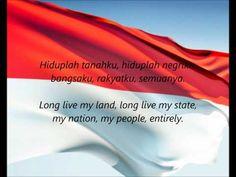 "Indonesian National Anthem - ""Indonesia Raya"" (ID/EN) - Cakrawala241"