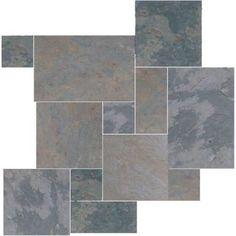 Earth Multi Color Slate Gauged Tile