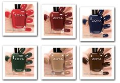 @Zoya Nail Polish  Cashmere Collection for Fall 2013! Check it out on KillerLipGloss.com