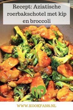 Recept: Aziatische roerbakschotel met kip en broccoli Dutch Recipes, Thai Recipes, Asian Recipes, Healthy Recipes, Broccoli Pasta, Healthy Lifestyle Motivation, Frisk, Sangria, Clean Eating