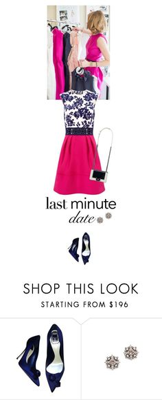 """""""Last Minute Date"""" by junglover ❤ liked on Polyvore featuring Christian Dior, DANNIJO, Chanel, women's clothing, women, female, woman, misses and juniors"""