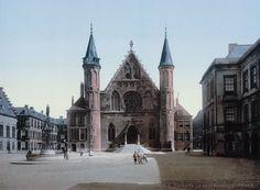Oude beelden van Nederland rond 1900 'ingekleurd' met een speciale techniek