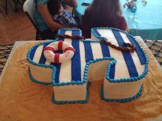 Nautical baby shower cake! Baby Shower Cakes, Baby Shower Themes, Baby Boy Shower, Baby Shower Gifts, Baby Boy Or Girl, Baby Love, Anchor Birthday, Anchor Baby Showers, Nautical Party