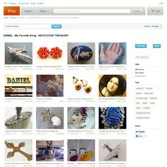 Website 'http://www.etsy.com/treasury/ODE2NDY4NXwyNzIzOTY1NTQy/daniel-my-favorite-song-an-ecochic' snapped on Snapito!