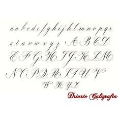 Resultado de imagem para alfabeto cursiva inglesa para imprimir