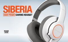 The ‪#‎Siberia‬ RAW Prism is a lightweight headset that radiates with 16.8 million brilliant colors and offers the relaxed, comfortable fit of the Siberia series.