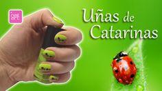 Uñas Con Catarinas/Nails With Ladybug       Nailart MX