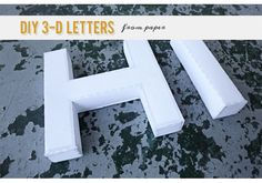 Font that lets you print and make 3d letters...