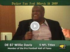 Willie Davis on being a Packer Legend