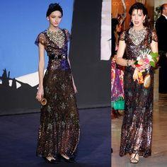 Princess Caroline - 2007 Rose Ball. (Pre-Fall 2007 Paris-Monaco).
