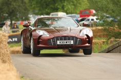 Aston Martin One-77. One of the most collectable cars in the world.