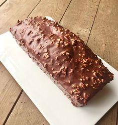 J'en reste baba: Cake marbré et glaçage rocher chocolat au lait, éc...