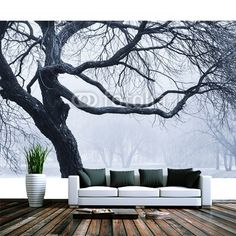 Twigs of big tree MaMurale.com
