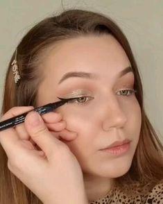Makeup Eye Looks, Glowy Makeup, Eyeshadow Makeup, Makeup Brushes, Cheer Makeup, Makeup Looks Tutorial, Braided Hairstyles For Wedding, Makeup Guide, Makeup Goals