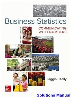 31 best solution manual download images on pinterest in 2018 business statistics communicating with numbers 2nd edition jaggia solutions manual test bank solutions manual fandeluxe Images