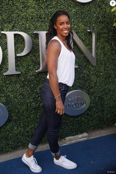 Kelly Rowland assiste au tournoi de l'US Open à New York le 31 août 2015