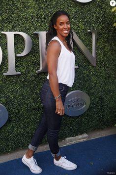 Kelly Rowland assiste au tournoi de l'US Open à New York le 31 août 2015