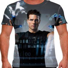 Camiseta Science Fiction Movie Minority Report Masculina