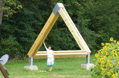 El triángulo imposible de Gotschuchen, Austria. Matemolivares