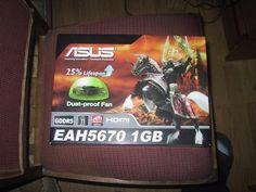 Asus amd radeon 5670 1gb ddr5 BOX