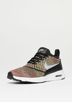 pretty nice 96cd9 43806 NIKE Laufschuh Air Max Thea Flyknit bright crimson wolf grey black