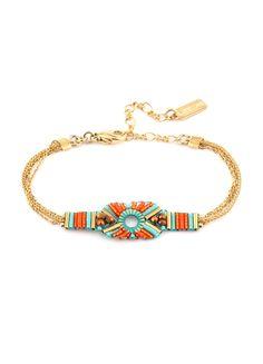 Achetez le bijou Patchanga_BraceletMK22 /MO_Multicolore Multicolore, pour 60,00€ seulement sur le site officiel Satellite Paris