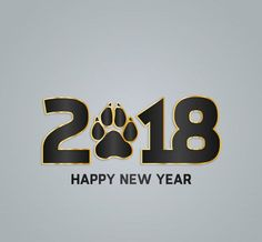 Happy New Year 2018 Image For Pet Lovers