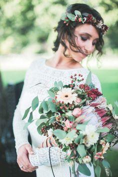 Hochzeitspapeterie | Hochzeitseinladung Sommer Wilde Blumen  ♥ Sommerhochzeit, Natur, Vintage, Hippie, Boho, zartmint design, Bonn, Köln, NRW, Deutschland, Schweiz, Österreich
