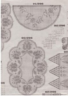 Kira scheme crochet: Scheme crochet no. 994