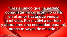Frases lindas de Amor para mi Novia ♥ | con Música Romántica