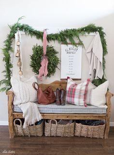 Shabby and Charme: Natale a casa di Kristen