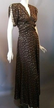 1940s gown