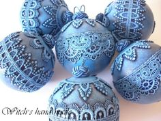 елена сухотина новогодние шары - Google Search