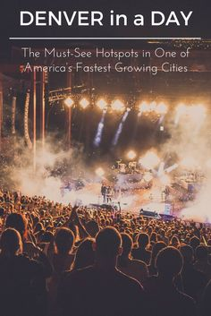 Denver in a Day: The Must-See Hotspots in One of America's Fastest Growing Cities. Denver Colorado things to do. The Mile High city, Denver, Colorado (USA) has a lot to offer, even if you can only visit for a single day. Denver restaurants. Places to visit in Denver.