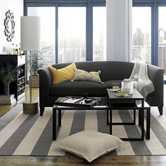 Tribeca Floor Lamp in Floor Lamps | Crate and Barrel