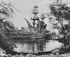 USS Nevada - One of the First of the Pearl Harbor Ships to Go Back into Action