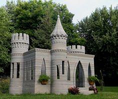 Imprime un castillo con #impresión3d y amenaza con crear una casa habitable.