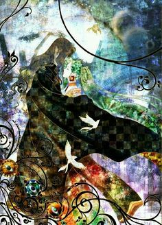 Gankutsuō: El Conde de Montecristo by Mahiro Maeda Manga Anime, Anime Art, Vampire Hunter D, Xxxholic, Purple Haze, Me Me Me Anime, Anime Couples, Otaku, Illustration Art
