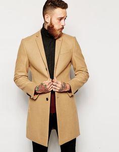 Image 1 ofNoose & Monkey Wool Overcoat