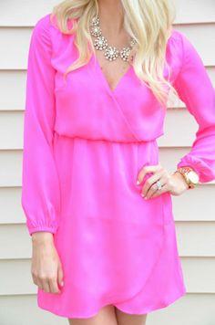 Lilly Pulitzer Whitaker Wrap Dress worn by @McKenna Bleu